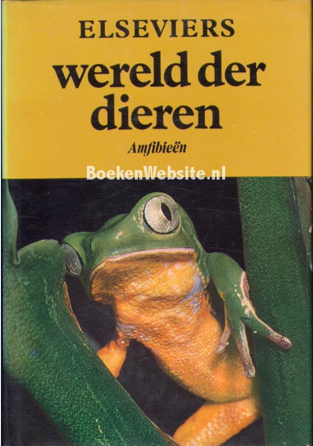 Elseviers wereld der dieren amfibie n doris m cochran boeken - Mand linnen huis van de wereld ...