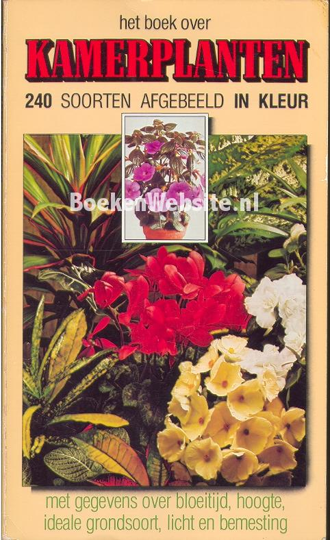 - Het boek over kamerplanten