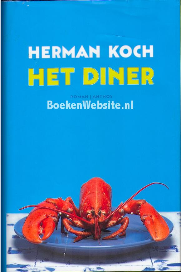 Het diner herman koch boeken for Koch website