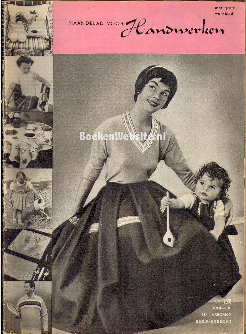 Diversen - Maandblad voor handwerken juni-juli 1957