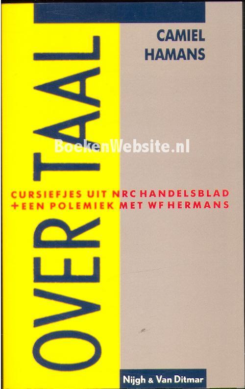 Over taal, Camiel Hamans | Boeken Website.nl