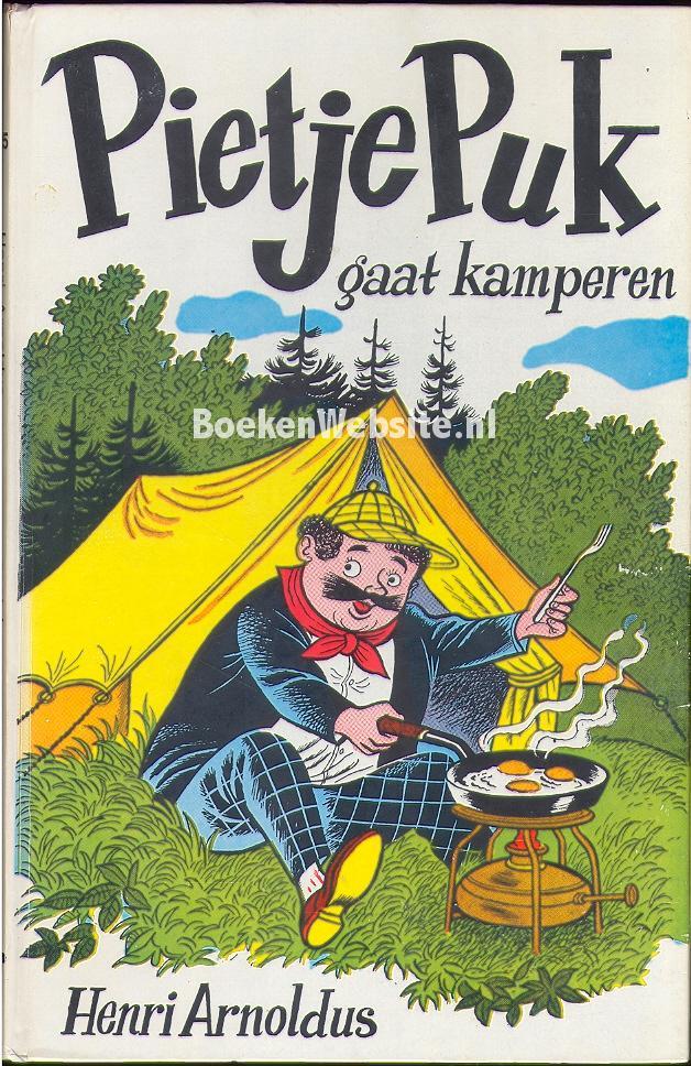 Arnoldus, Henri - Pietje Puk gaat kamperen