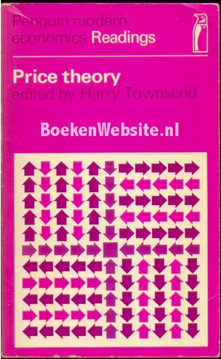 Townsend, Harry - Price theory