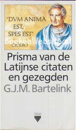Citaten Van Boeken : Prisma van de latijnse citaten en gezegden g j m