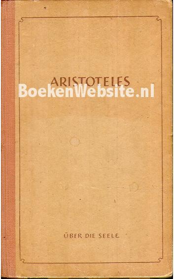 Aristoteles - Über die Seele